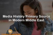 Media History Primary Source in Modern Middle East