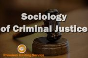 Sociology of Criminal Justice