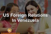 US Foreign Relations in Venezuela