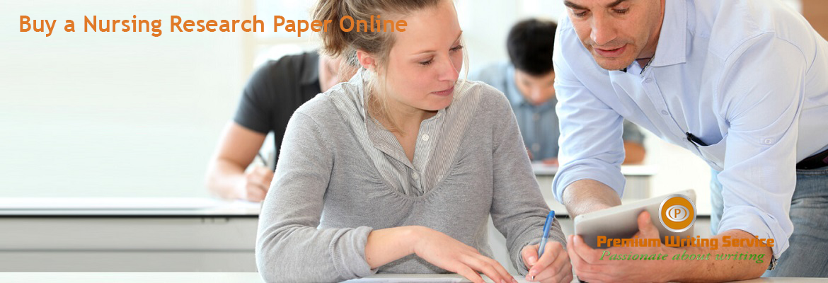 Buy a Nursing Research Paper Online
