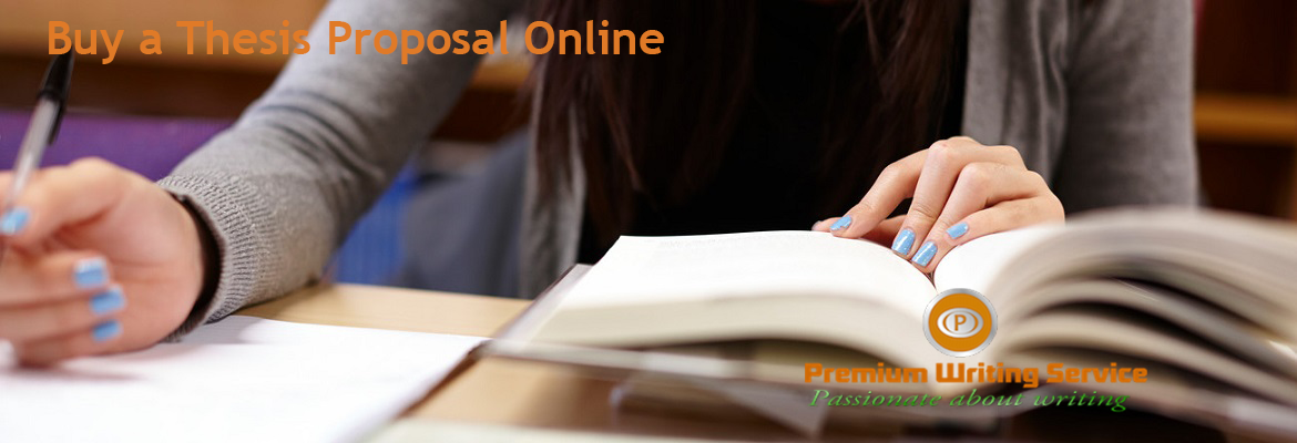 How to Buy a Thesis Proposal Online