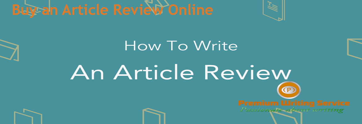 Buy an Article Review Online