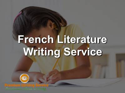French-Literature-Writing-Service