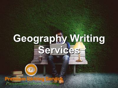 Geography Writing Services